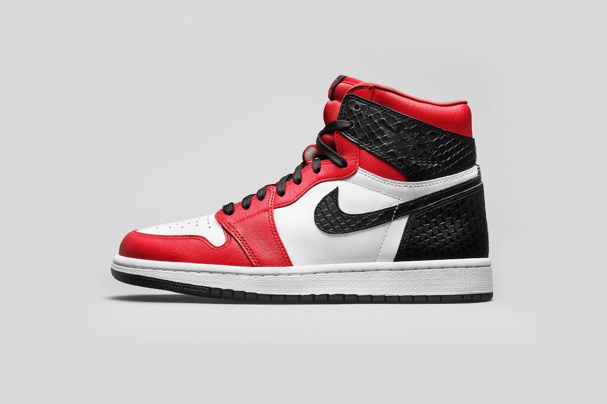Women Air Jordan 1 Satin Red Online